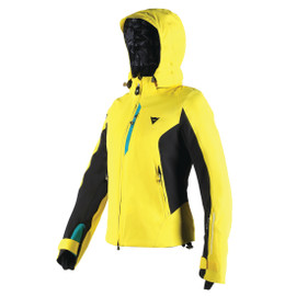 SARENNE D-DRY® JACKET LADY VIBRANT-YELLOW/BRIGHT-AQUA/BLACK