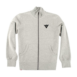 N'JOY FULL ZIP SWEATSHIRT MELANGE-GRAY