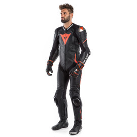 LAGUNA SECA 4 1PC PERF. LEATHER SUIT - One Piece Suits