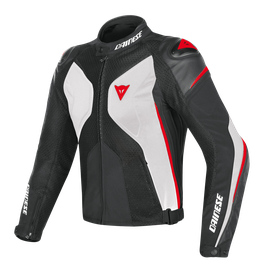 SUPER RIDER D-DRY® JACKET WHITE/BLACK/RED