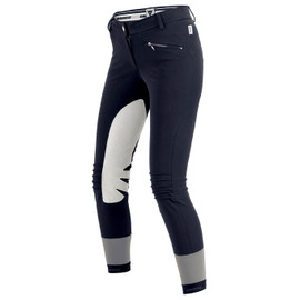 CIGAR PANTS LADY BLU-NAVY