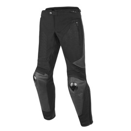 MIG LEATHER-TEX PANTS BLACK/BLACK/BLACK