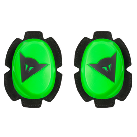 PISTA KNEE SLIDER FLUO-GREEN/BLACK- Genoux