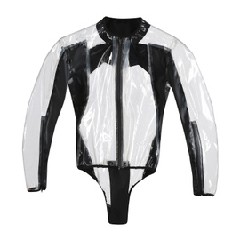 RAIN BODY RACING D1 TRANSPARENT/BLACK- Regenschutz
