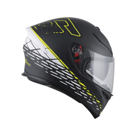 K-5 S E2205 TOP - THORN 46 MATT BLACK/WHITE/YELLOW