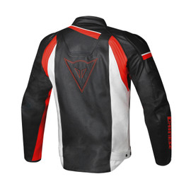 VELOSTER PERFORATED LEATHER JACKET