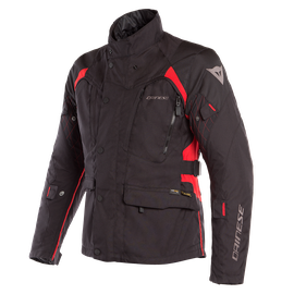 X-TOURER D-DRY JACKET BLACK/BLACK/TOUR-RED