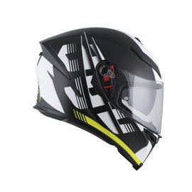 K-5 S E2205 MULTI - DARKSTORM MATT BLACK/YELLOW