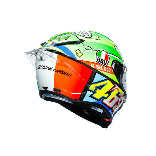 PISTA GP R LIMITED EDITION ECE DOT - ROSSI MUGELLO 2017 - Pista GP R