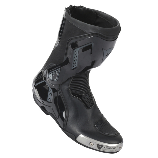 TORQUE D1 OUT AIR BOOTS BLACK/ANTHRACITE- Leather