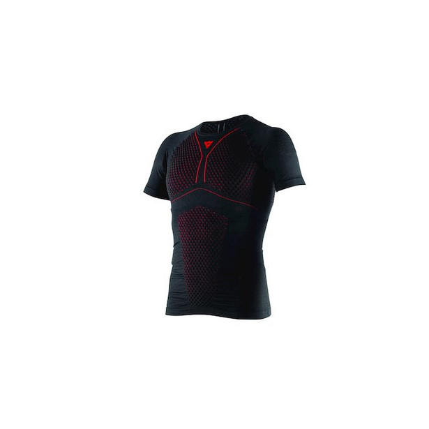 D-CORE THERMO TEE SS BLACK/RED