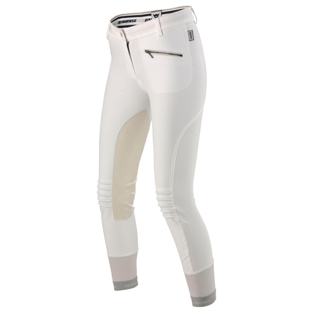 CIGAR PANTS LADY WHITE- Pantalons