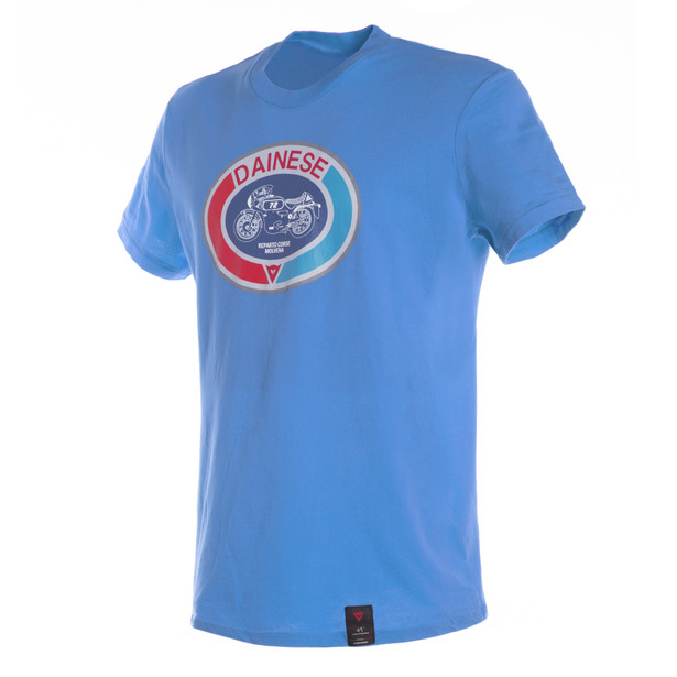 MOTO72 T-SHIRT BLUE-ASTER- T-Shirts