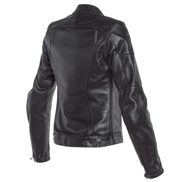 NIKITA 2 LADY LEATHER JACKET BLACK- Leather