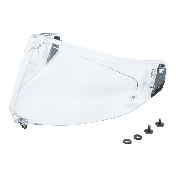 Visor RACE 3  RACING KIT CLEAR - Pista GP R