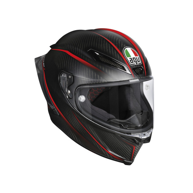 PISTA GP R E2205 MULTI - GRANPREMIO MATT CARBON/RED