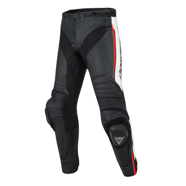 MISANO LEATHER BLACK/WHITE/RED-FLUO