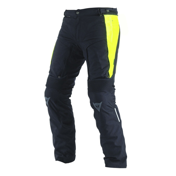 D-STORMER D-DRY PANTS BLACK/FLUO-YELLOW
