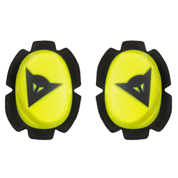 PISTA KNEE SLIDER FLUO-YELLOW/BLACK- Knees