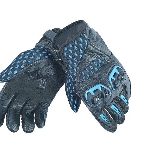 AIR HERO BLACK/ELECTRIC-BLUE- Textile