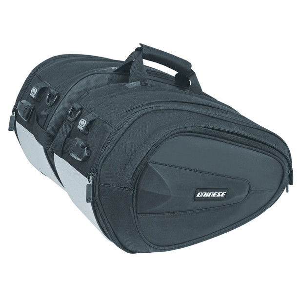 D-SADDLE MOTORCYCLE BAG STEALTH-BLACK