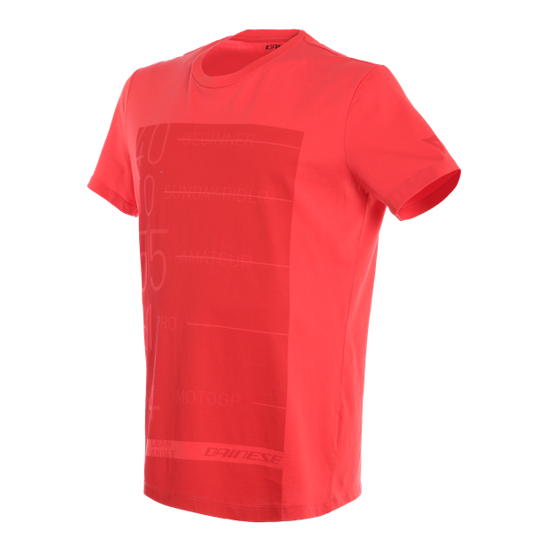 LEAN-ANGLE T-SHIRT RED