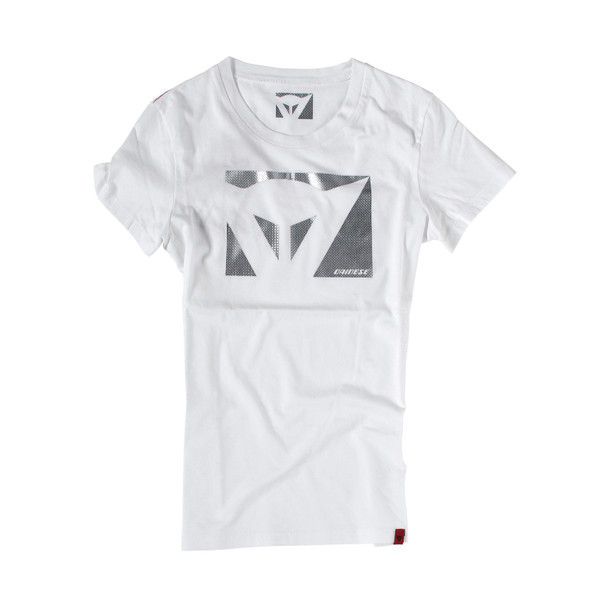 T-SHIRT COLOR NEW LADY WHITE/CARBON