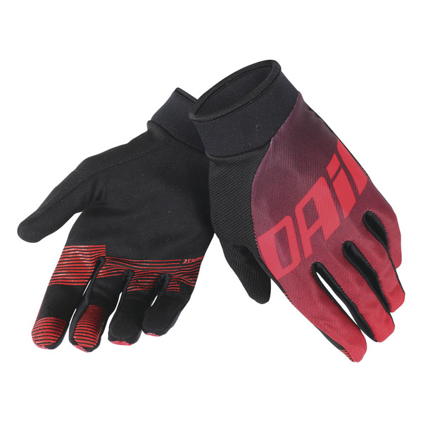 DRIFTEC GLOVES MIDNIGHT-PURPLE/RED- Guantes