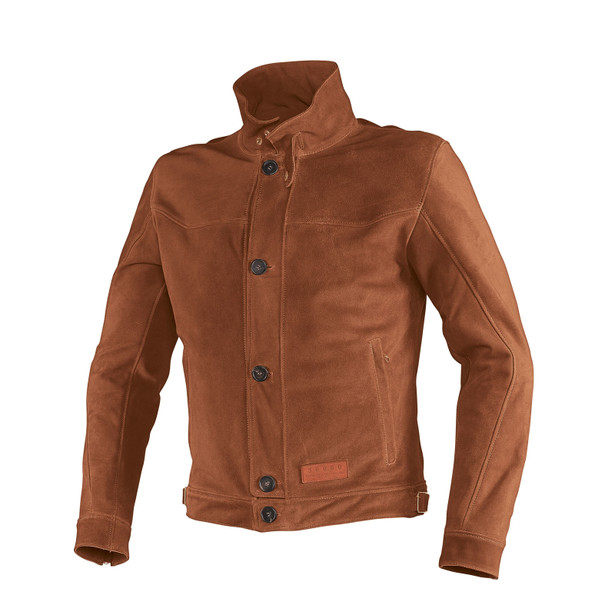 YORK LEATHER JACKET BROWN- undefined