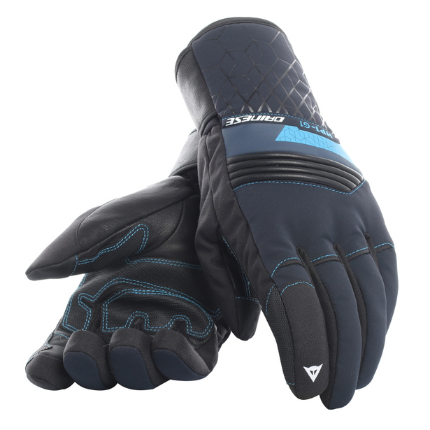 HP1 GLOVES STRETCH-LIMO/BLUE-ASTER- Gants
