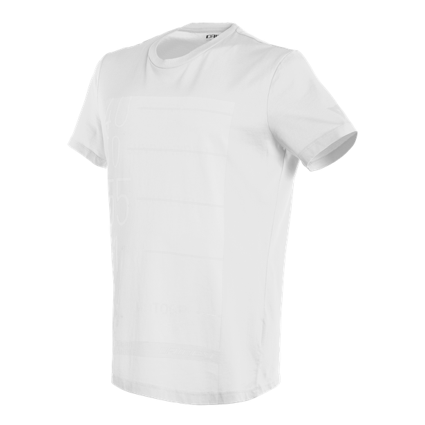 LEAN-ANGLE T-SHIRT WHITE