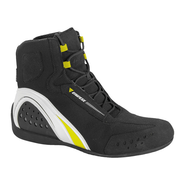 MOTORSHOE D-WP® BLACK/WHITE/FLUO-YELLOW- D-WP®
