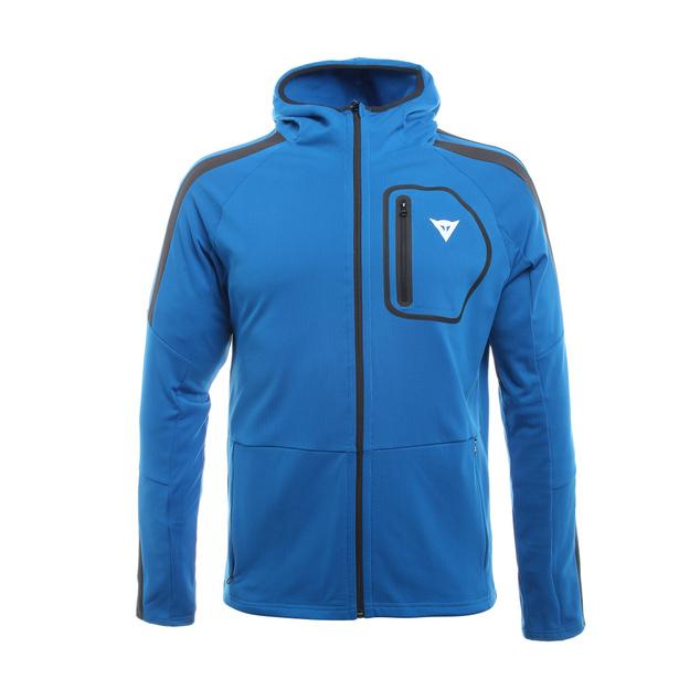 HP2 FULL ZIP - HOODED MAN BLUE-ASTER/BLACK-IRIS- Couches Externes