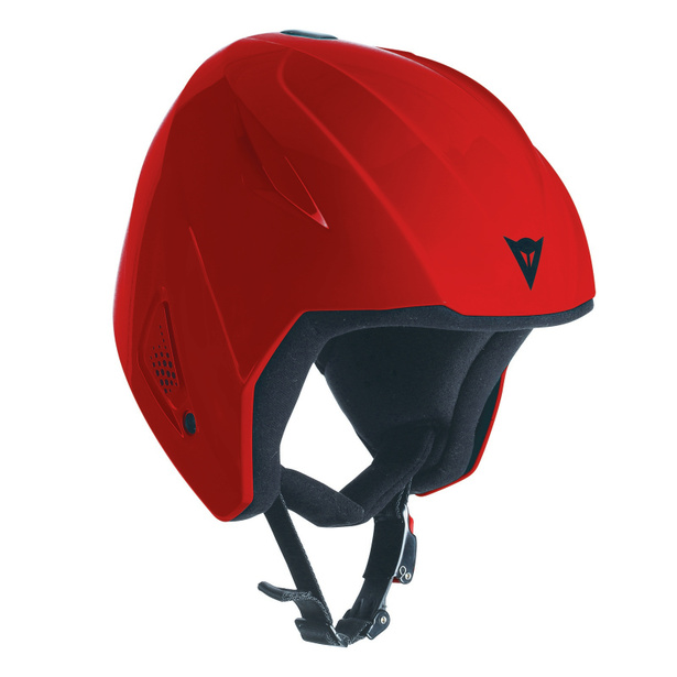 SNOW TEAM JR EVO HELMET RED- Casques