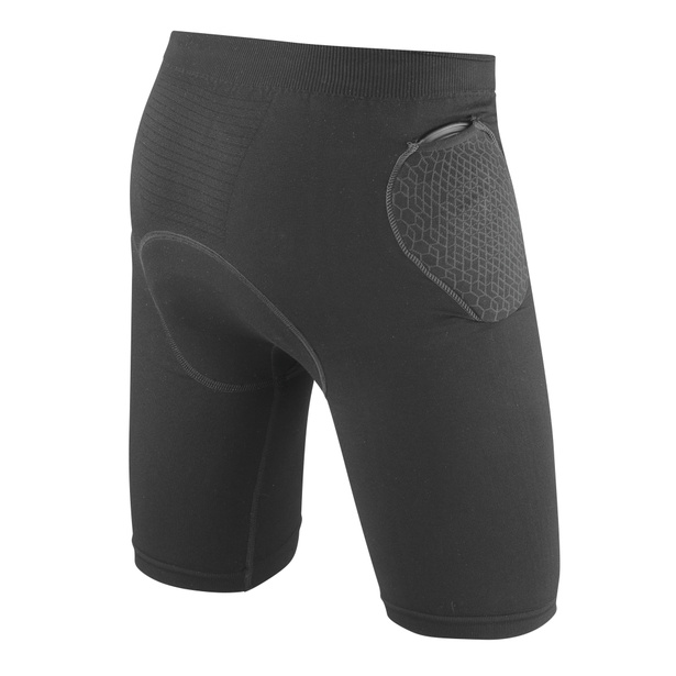 TRAILKNIT PRO ARMOR SHORTS BLACK- Hosen