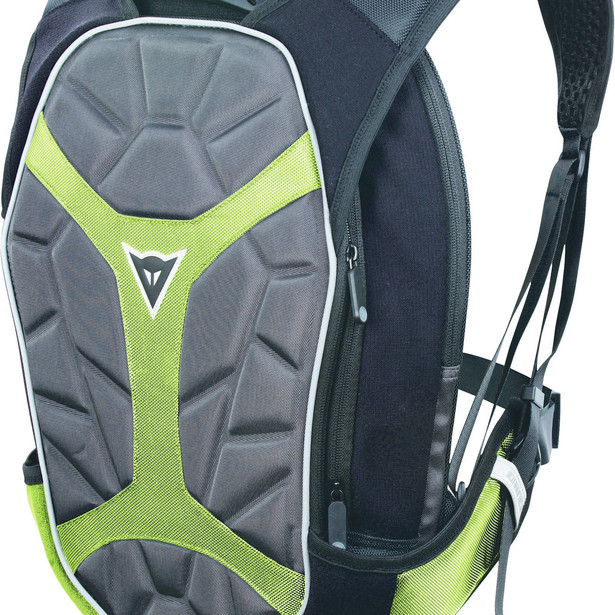 D-EXCHANGE BACKPACK S BLACK/ANTHRACITE/FLUO-YELLOW