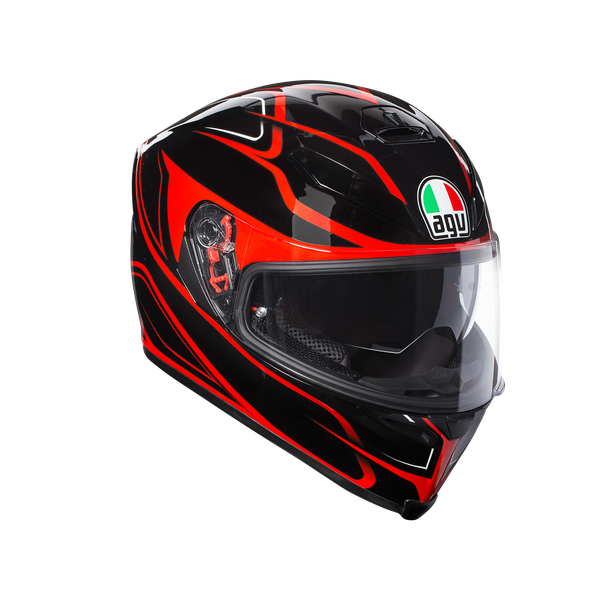K-5 S AGV E2205 MULTI PLK - MAGNITUDE BLACK/RED