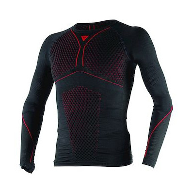 D-CORE THERMO TEE LS BLACK/RED- Shirts