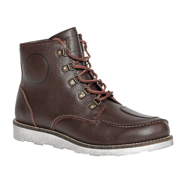 COOPER SHOES DARK BROWN- Shoes