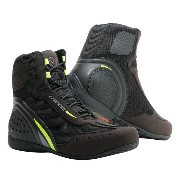 MOTORSHOE D1 AIR BLACK/FLUO-YELLOW/ANTHRACITE- D-Wp®