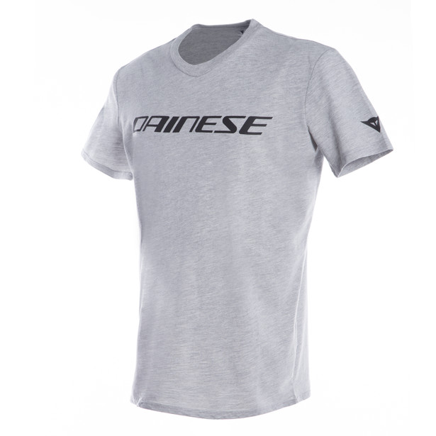 DAINESE T-SHIRT GRAY-MELANGE/BLACK