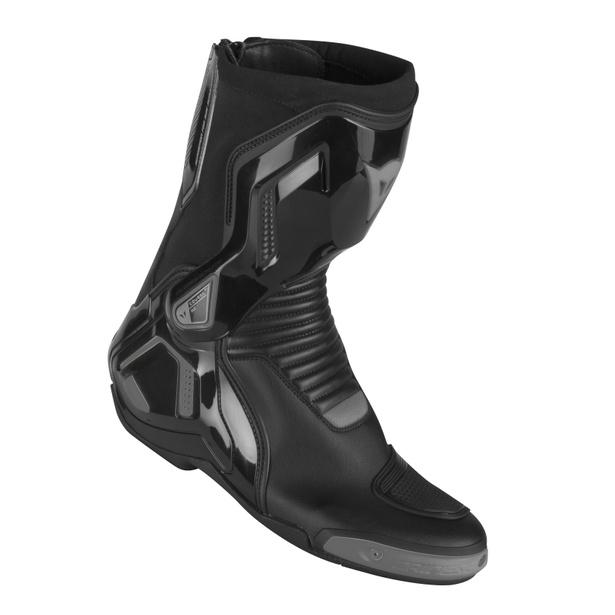 COURSE D1 OUT BOOTS BLACK/ANTHRACITE- Leder