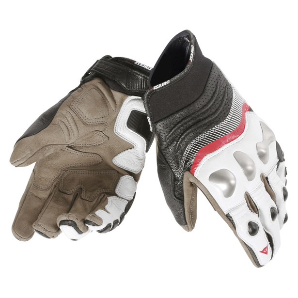 X-STRIKE GLOVES WHITE/LAVA-RED/BLACK- Gloves