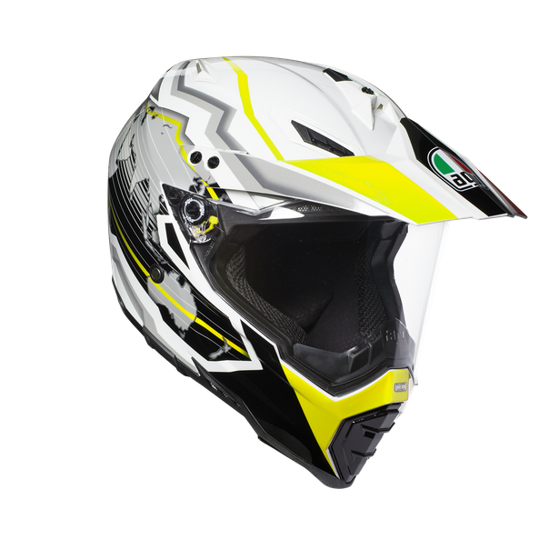 AX-8 DUAL EVO E2205 MULTI - EARTH WHITE/BLACK/YELLOW FL.