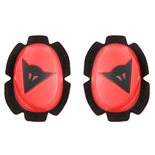 PISTA KNEE SLIDER FLUO-RED/BLACK- Rodillas