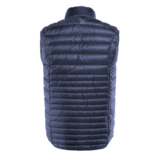 PACKABLE DOWNVEST MAN BLACK-IRIS- Downjackets