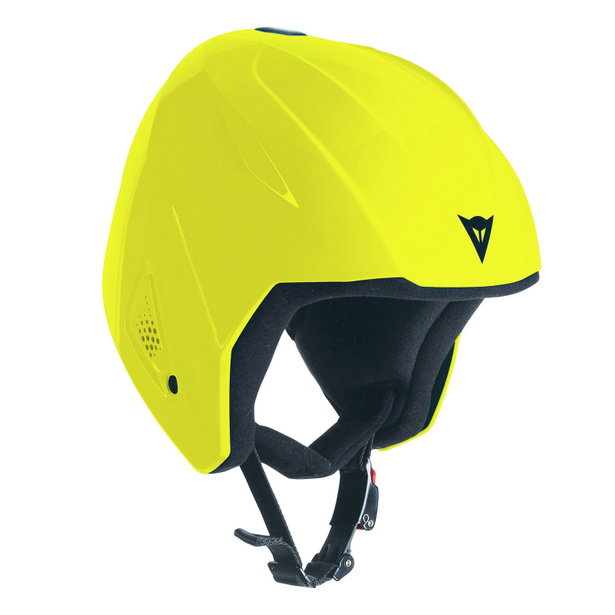SNOW TEAM JR EVO HELMET VIBRANT-YELLOW- Cascos