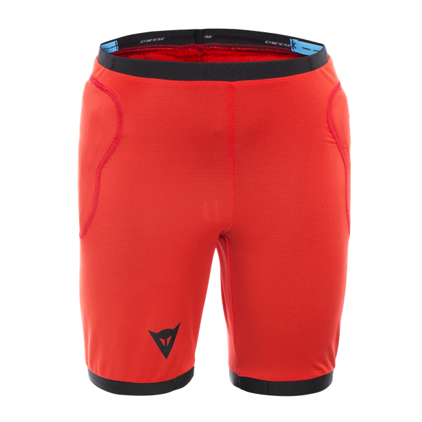 SCARABEO SAFETY SHORTS BLACK/RED- Safety
