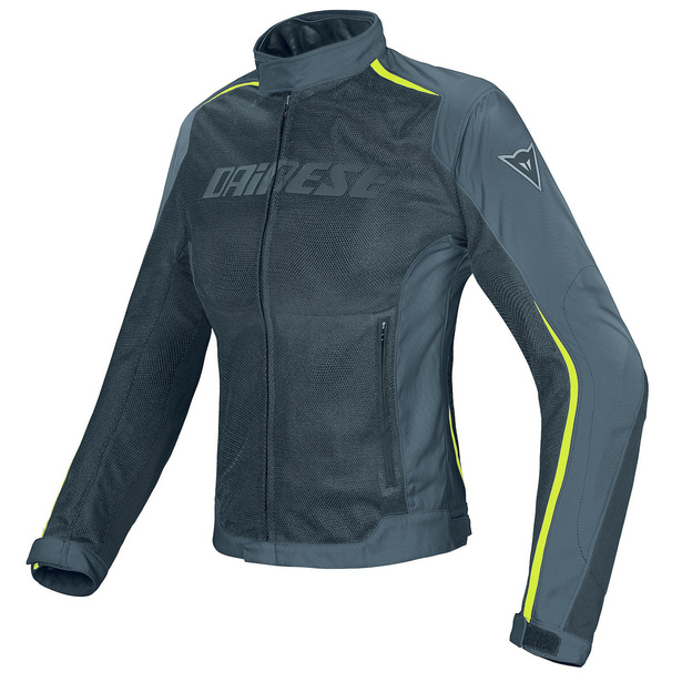 HYDRA FLUX D-DRY® LADY BLACK/DARK-GULL-GRAY/FLUO-YELLOW- D-Dry®