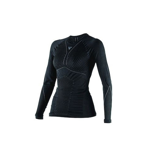 D-CORE THERMO TEE LS LADY BLACK/ANTHRACITE- T-Shirt